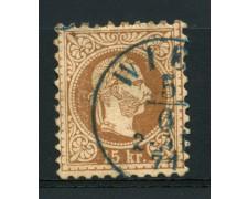 1874 - LOTTO/14165 - AUSTRIA - 15Kr. BRUNO - USATO