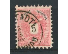 1883 - LOTTO/14171 - AUSTRIA - 5 Kr. ROSA - USATO