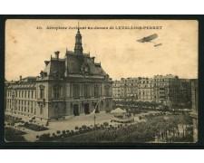FRANCIA - 1915 - LOTTO/14195 - AEROPLANO IN VOLO SU LEVALLOIS-PERRET - VIAGGIATA