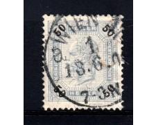 1899 - LOTTO/14212 - AUSTRIA - 50 h. AZZURRO GRIGIO - USATO