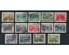 1932 - LOTTO/14275 - AUSTRIA - VEDUTE E PAESAGGI 14v.- USATI
