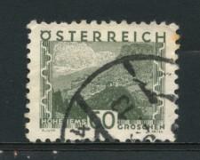 1932 - LOTTO/14279 - AUSTRIA - 60s. GRIGIO VERDE VEDUTE - USATO