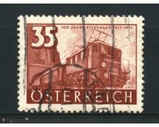 1937 - LOTTO/14281 - AUSTRIA - 35g. LOCOMOTIVA  ELETTRICA - USATO