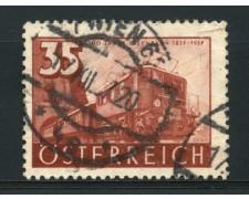 1937 - LOTTO/14282 - AUSTRIA - 35g. LOCOMOTIVA  ELETTRICA - USATO