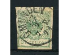 1890 - LOTTO/14299 - AUSTRIA - 2k. VERDE SEGNATASSE GIORNALI - USATO