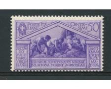 1930 - LOTTO/14359 - REGNO - 50c. BIMILLENARIO DI VIRGILIO - NUOVO