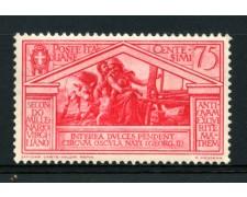 1930 - LOTTO/14360 - REGNO - 75c. BIMILLENARIO DI VIRGILIO - NUOVO