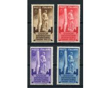 1933 - LOTTO/14369 - REGNO - GIUOCHI UNIVERSITARI - NUOVI