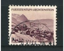 1944 - LOTTO/14428 - LIECHTENSTEIN - 25r. VEDUTE - USATO