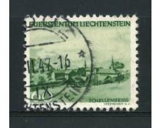 1944 - LOTTO/14429 - LIECHTENSTEIN - 60r. VEDUTE - USATO