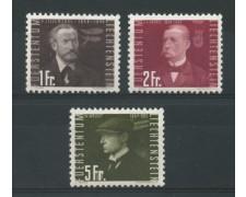 1948 - LOTTO/14431 - LIECHTENSTEIN - POSTA AEREA  PIONIERI 3v. - nuovi