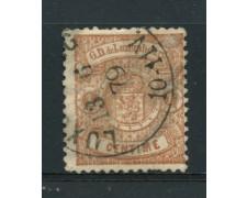 1874/79 - LOTTO/14432 - LUSSEMBURGO - 1c. BRUNO CHIARO - USATO