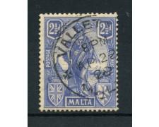 1922 - LOTTO/14466 - MALTA - 2,5p. ALLEGORIE - USATO