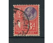 1926/27 - LOTTO/14472 - 6p. ROSSO RE GIORGIO V° - USATO