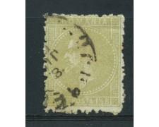 1876/78 - LOTTO/14491 - ROMANIA - 1,5b. OLIVA CHIARO - USATO
