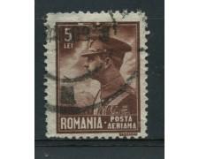 1930 - LOTTO/14539 - ROMANIA - POSTA AEREA 5 Lei - USATO