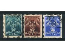1932 - LOTTO/14541 - ROMANIA - POSTA AEREA 3v. -  USATI