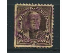1895 - LOTTO/14575 - STATI UNITI - 8c. W.T. SHERMAN CON FILIGRANA - USATO