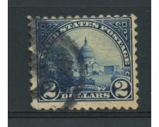 1922 - LOTTO/14578A - STATI UNITI - 2 $. CAMPIDOGLIO - USATO