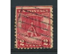 1928 - LOTTO/14579 - STATI UNITI - 2c. WALLEY FORGE - USATO
