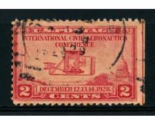 1928 - LOTTO/14581 - STATI UNITI - 2c. CONFERENZA AVIAZIONE - USATO