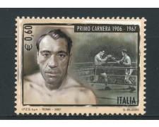 2007 - LOTTO/14800 - REPUBBLICA - PRIMO CARNERA - NUOVO