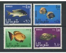 1967 - LOTTO/14934 - SOMALIA REPUBBLICA - PESCI 4v. - NUOVI