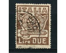 1923 - LOTTO/14997 - REGNO - 2 LIRE MARCIA SU ROMA - USATO
