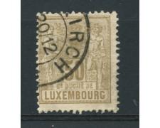 1882 - LOTTO/15017 - LUSSEMBURGO - 50c. BISTRO - USATO