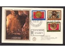 1975 - LOTTO/15050 - VATICANO - ARCHEOLOGIA CRISTIANA - BUSTA FDC