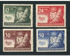 1940 - LOTTO/15114 - POLONIA OCC. TEDESCA - SOCCORSO INVERNALE 4v. -  NUOVI