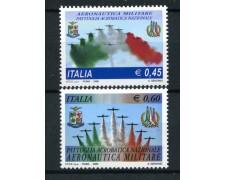 2005 - LOTTO/15160 - REPUBBLICA - FRECCE TRICOLORI - 2v. - NUOVI