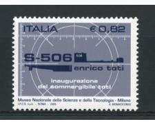 2005 - LOTTO/15175 - REPUBBLICA - SOMMERGIBILE ENRICO TOTI - NUOVO