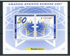 2007 - LOTTO/15194 - REPUBBLICA - TRATTATI DI ROMA  FOGLIETTO - NUOVO