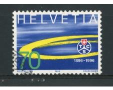 1996 - LOTTO/15221 - 70 c. TOURING CLUB - USATO