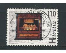 1996 - LOTTO/15224 - SVIZZZERA - 110. BICENTENARIO CARILLON - USATO