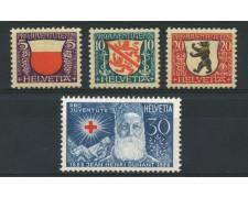 1928 - LOTTO/15244 - SVIZZERA - PRO JUVENTUTE 4v . - NUOVI