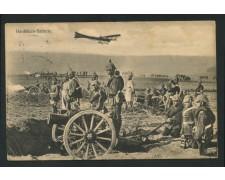 1914 - GERMANIA - HAUBITZEN BATTERIE - VIAGGIATA - LOTTO/15282