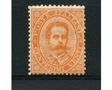 1879 - REGNO - 20 CENTESIMI  ARANCIO EFFIGIE DI UMBERTO I° - LOTTO/15285