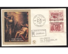 1976 - LOTTO/15354 - VATICANO - TIZIANO VECELLIO - BUSTA FDC