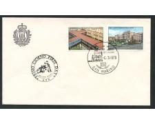 1986 - LOTTO/15381 - SAN MARINO - SICUREZZA SOCIALE - BUSTA FDC