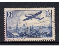 1936 - LOTTO/15439 - FRANCIA - 1,50 FRANCHI POSTA AEREA - USATO