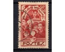 1936 - LOTTO/15442 - FRANCIA - PRO FIGLI DISOCCUPATI - USATO