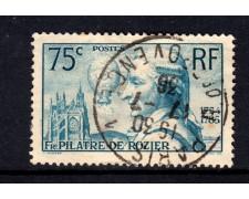 1936 - LOTTO/15443 - FRANCIA - AERONAUTA DE ROZIER - USATO
