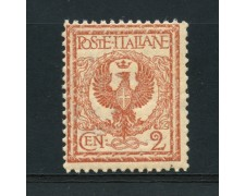 1901 - LOTTO/15510 - REGNO - 2 c. FLOREALE - NUOVO