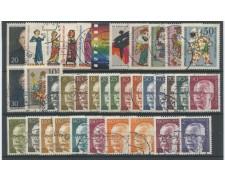 1970 - LOTTO/15515 - BERLINO - ANNATA COMPLETA DI 36 VALORI - USATI