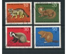1968 - LOTTO/15528U - BERLINO -  PRO GIOVENTU' ANIMALI 4v. - USATI
