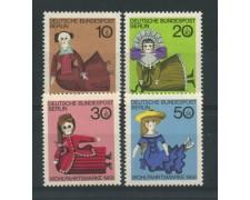 1968 - LOTTO/15529 - BERLINO - BENEFICENZA BAMBOLE 4v. - NUOVI