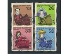 1968 - LOTTO/15529U - BERLINO - BENEFICENZA BAMBOLE 4v. - USATI
