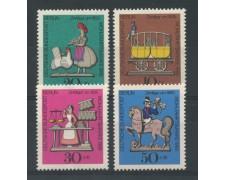 1969 - LOTTO/15533 - BERLINO - BENEFICENZA  FIGURINE 4v. - NUOVI